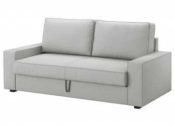 Lussuoso VILASUND/MARIEBY 3-Seat Sofa-Bed Orrsta Light Grey, IKEA Living Room