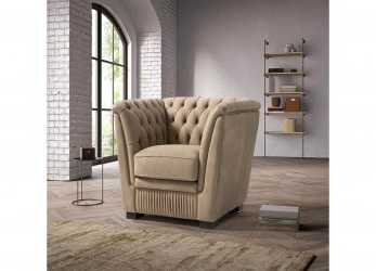 Lussuoso Sofa, Armchair In, Leather