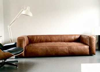 Dettaglio Love This Vintage Design Leather Sofa #Cognac #Sofa, Sofas