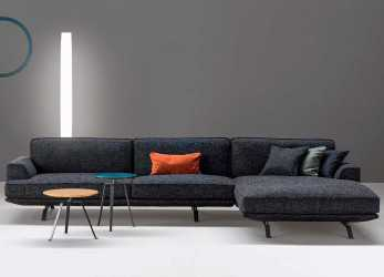 Bello Divano Moderno, Chaise Longue Slab Plus Di Bonaldo