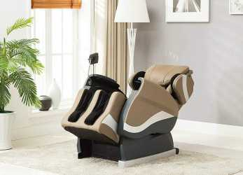 Superiore Amazon.Com: Divano Roma Furniture Relax Reclining Massage Chair- Zero Gravity Reclining Full Body Massage Chair (Tan): Kitchen & Dining