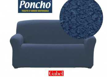 Fantastico Copridivano 2 POSTI Gabel Poncho Biestendibile Art. LIVING Var. Blu: Amazon.It: Casa E Cucina