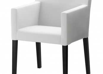 Dettaglio NILS Armchair, Blekinge White, IKEA, A, Upholstered Chair, The Office If Looking, Inexpensive Option