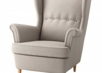 Lussuoso IKEA STRANDMON Wing Chair 10 Year Guarantee. Read About, Terms In, Guarantee Brochure