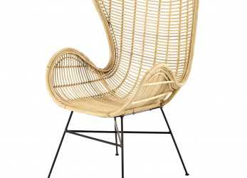 Speciale Rattan Armchair Kawa, Maisons Du Monde, Home, Outdoor Living
