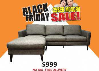 Eccellente ... Large Size Of Divani Black Friday Black Friday Sale On, Ellen Sectional Only, Including