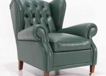 Esotico BERGERE LEATHER ARMCHAIR Version 2