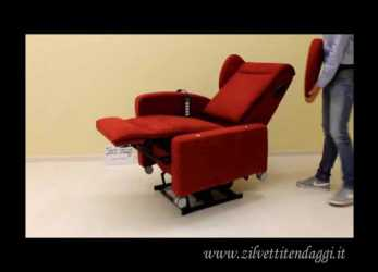 Ideale Poltrona Relax Valeria 4 Motori Lift, Rotelle Tel. 0442.92760, YouTube