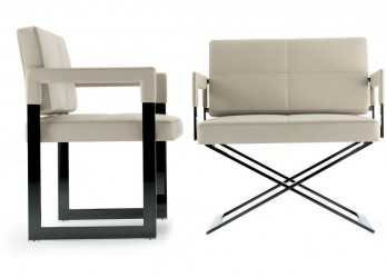 Fantastico POLTRONA FRAU ASTER X LOUNGE CHAIR