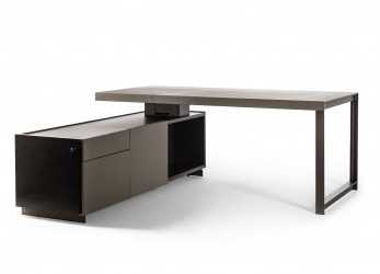 Ideale Jobs President Desk Small By Poltrona Frau, STYLEPARK