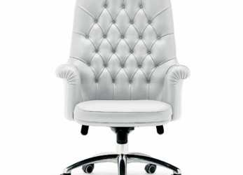 Nuovo Chair High Back, Oxford, Poltrona Frau