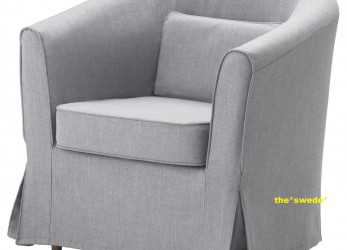 Lussuoso Details About Ikea EKTORP TULLSTA Chair Armchair Cover Slipcover NORDVALLA MEDIUM GRAY Sealed!