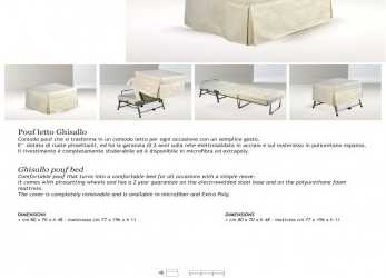 Magnifico Ghisallo Pouf,, BERTO SALOTTI -, Catalogs, Documentation