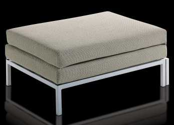 Esotico Pouf Letto Willy, Visione Frontale