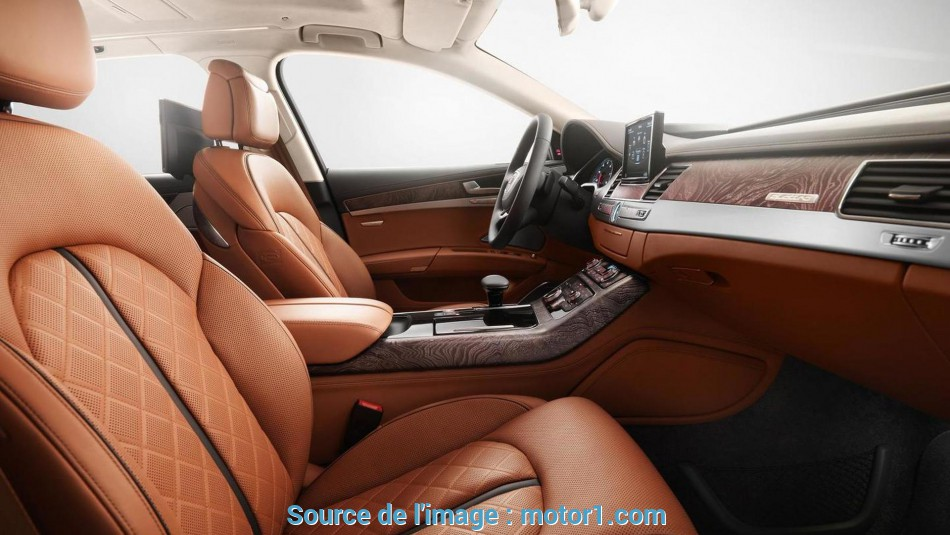 Semplice Audi A8 Exclusive Concept Special Edition Gets Special Leather From Poltrona Frau