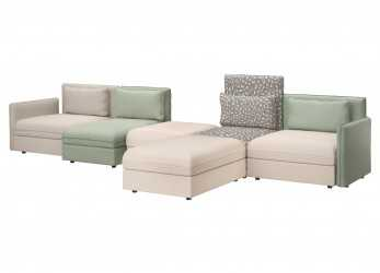 Semplice Divano Ikea Vallentuna Sbalorditivo My Home Living Room Vallentuna Couch By Ikea With Pillows By Of