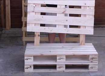 Eccellente Assembly Sofa With Pallets