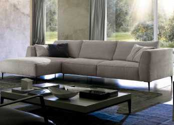Dettaglio Dudy Sectional By Chateau D'Ax, Italy. Shown In Fabric. Visit Website, Customization Options