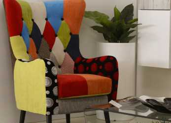 Magnifico POLTRONA PATCHWORK FLAVIA, Dolce Casa Outlet Palermo